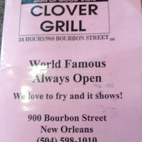 Photo taken at Clover Grill by kelly k. on 6/24/2013