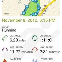 Photo taken at Watsessing Park Running Track by Mutinda K. on 11/9/2012