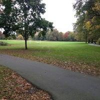 Photo taken at Watsessing Park by Mutinda K. on 10/23/2012