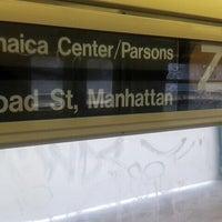 Photo taken at MTA Subway - Z Train by Dave M. on 7/5/2013