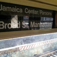 Photo taken at MTA Subway - Z Train by Dave M. on 4/25/2013