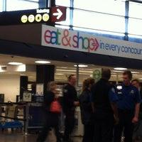 Photo taken at TSA Checkpoint C by Pam H. on 11/8/2012