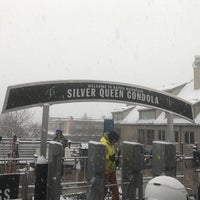 Photo taken at Silver Queen Gondola by Cameron M. on 1/5/2017