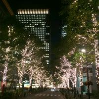 Photo taken at 丸の内仲通り by BLANC on 11/7/2012