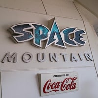 Photo taken at Space Mountain by BLANC on 2/4/2013