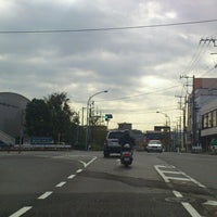 Photo taken at 新境橋交差点 by BLANC on 10/20/2012