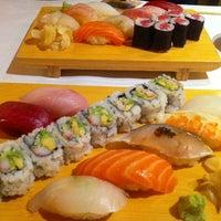 Photo taken at Sushi Yasu by Jane L. on 2/3/2013