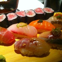 Photo taken at Sushi Yasaka by Jane L. on 4/12/2013