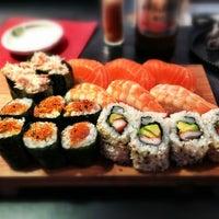Photo taken at Sushi Sano by Alex H. on 7/13/2013
