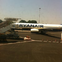 Photo taken at Rome Ciampino Airport (CIA) by Vizio on 6/28/2012