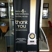 Photo taken at Honda 3S Center (Jimisar Corporation Sdn Bhd) by Maharaja on 3/3/2012