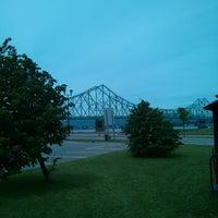 Photo taken at J. C. Van Horne Bridge by joel b. on 7/2/2013