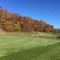 Photo taken at Raspberry Falls Golf & Hunt Club by Jim P. on 11/4/2015
