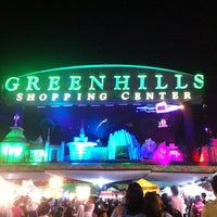 Photo taken at Greenhills Shopping Center by Tsh D. on 12/4/2012