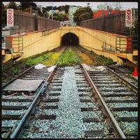 Photo taken at MUNI Metro Stop - Sunset Tunnel East Portal by Joshua R. on 3/30/2013
