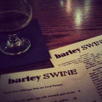 Photo taken at Barley Swine by Joshua R. on 11/20/2012