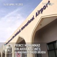 Photo taken at Prince Mohammad Bin Abdulaziz International Airport (MED) by ThisSwarmHaveN🔞Name on 4/19/2013