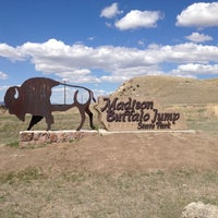 Photo taken at Madison Buffalo Jump State Park by Christopher W. on 5/5/2013
