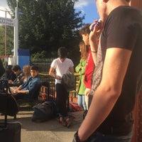 Photo taken at Warminster Railway Station (WMN) by Кατyα S. on 9/25/2015