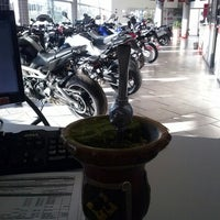 Photo taken at Yamavale Motos Taquara by Alexandre L. on 6/25/2015