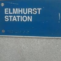 Photo taken at Metra - Elmhurst by Beth P. on 5/21/2013
