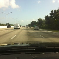 Photo taken at I-95 & Palm Beach Lakes Blvd by Steven ¯. on 8/10/2013