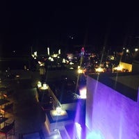 Photo taken at Rooftop Bar Bab Al Shams by Amanda O. on 1/29/2017