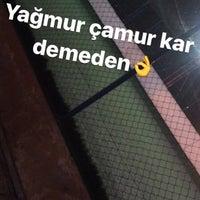 Photo taken at Kardeşler Bulak Halı Saha by İbrahim E. on 11/23/2017