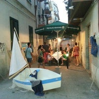 Photo taken at Hostaria La Vecchia Lanterna by Matteo M. on 8/19/2013
