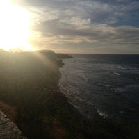 Photo taken at Amelia Earhart marker at Diamond Head Lookout by Jason S. on 7/27/2013