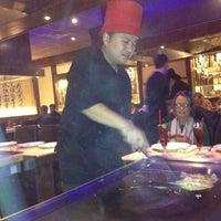 Photo taken at Kobe Ninja House Japanese Grill by Christina G. on 12/6/2012