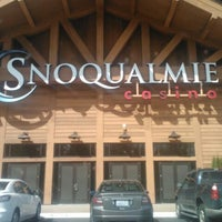 Photo taken at Snoqualmie Casino by John C. on 4/3/2013