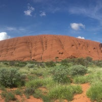Photo taken at Uluru by Andrey L. on 1/13/2017