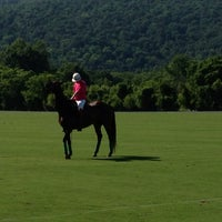 Photo taken at Virginia International Polo by Christopher M. on 6/22/2013