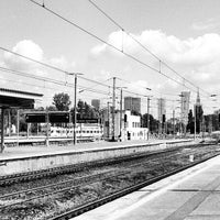 Photo taken at Warsaw West Railway Station by Claudio A. on 8/11/2013