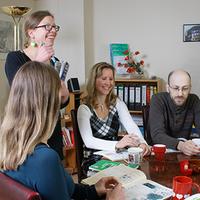 Das Foto wurde bei Das Sprachwohnzimmer von Das Sprachwohnzimmer am 10/11/2014 aufgenommen