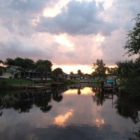 Photo taken at Atlantic intracoastal waterway by Michele S. on 7/27/2014