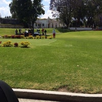 Photo taken at Campo De Golf ADM by JoshDeftones on 3/29/2015