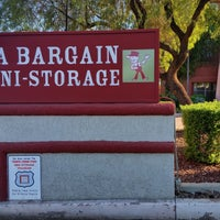 Photo Taken At Tempe Bargain Storage By Bargain Storage On 10/8/2014 ...