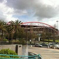 Photo taken at Estádio do Sport Lisboa e Benfica by Elton A. on 3/23/2013