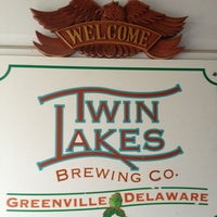 Photo taken at Twin Lakes Brewing Co by Kimberly on 11/8/2013
