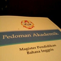 Photo taken at Pascasarjana Universitas Katolik Widya Mandala by Satria Andy K. on 10/20/2012