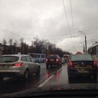 Photo taken at ул. Коминтерна by Marianna F. on 10/15/2014