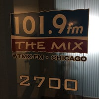Photo taken at 101.9fm THE MIX - WTMX Chicago by Joe A. on 4/18/2015