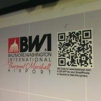 Photo taken at Baltimore/Washington International Thurgood Marshall Airport (BWI) by DK S. on 5/25/2013