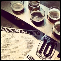 Photo taken at 10 Barrel Brewing Company by Caylee B. on 3/16/2013