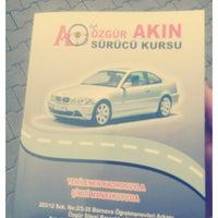 Photo taken at Akın Sürücü Kursu by Rıdvan G. on 11/16/2014