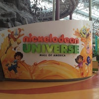 Photo taken at Nickelodeon Universe® by melissa r. on 1/22/2013