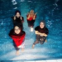 Photo taken at Swimming Pool Bayu Tasik 1 Condo by Wanie A. on 8/22/2015