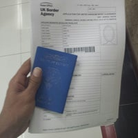 Photo taken at UK Visa Application Centre by Hamad A. on 8/6/2013